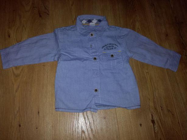 Koszula niemowlęca chłopięca r.68