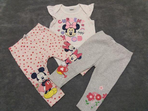 Komplet Body legginsy getry Disney Myszka Miki Mickey