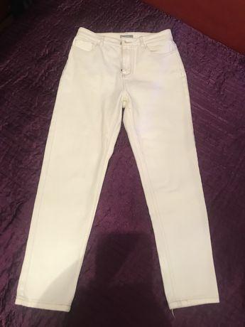 Женские джинсы мом белые, жіночі джинси