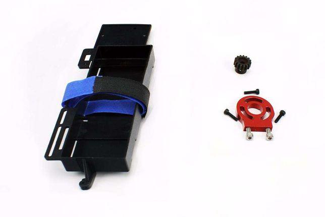 Kit de Conversão Nitro/Gasolina-Eléctrico p/ carros RC 1/8 e 1/10