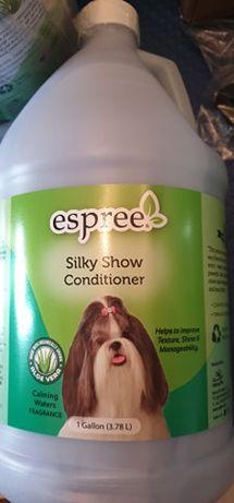 Espree Silky Show Conditioner - odżywka do sierści długiej 3,8 l