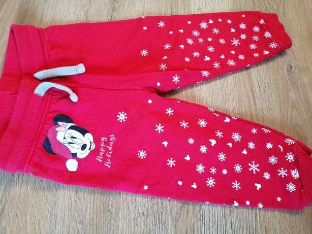 Spodnie swiatecznie Disney