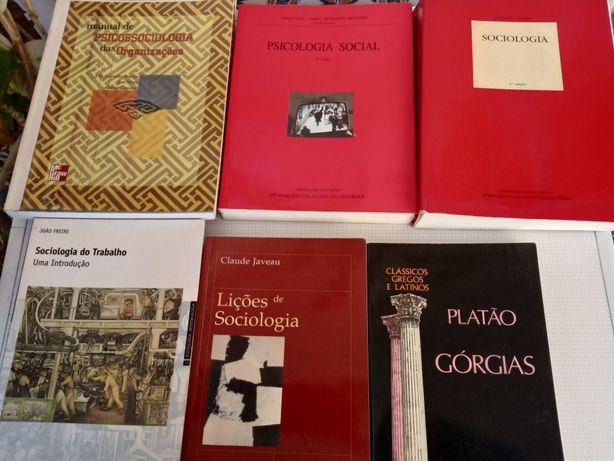 Livros de Sociologia