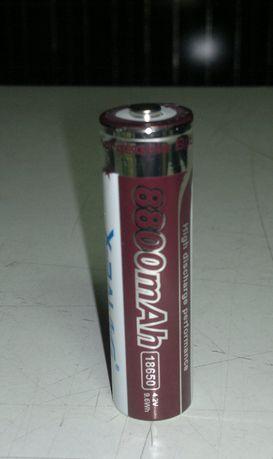 Baterias recarregáveis de litio modelos 18650 e 14500