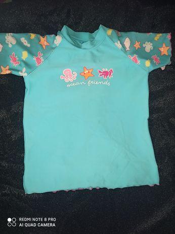 Koszulka do plywania/ do wody/ strój kąpielowy 134/146