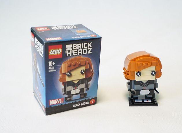 Lego BrickHeadz 41591 Czarna Wdowa