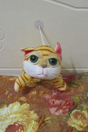 Мягкая игрушка котик, кот.