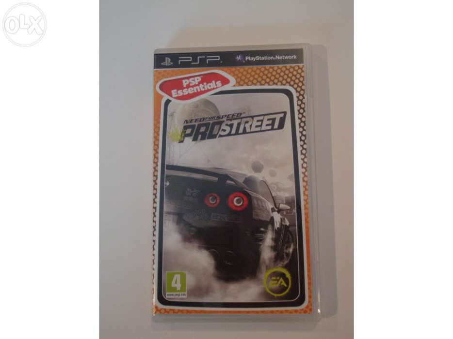 Need for speed prostreet para psp