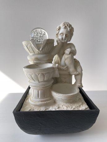Fonte decorativa de água com Anjo NOVA nunca usada.
