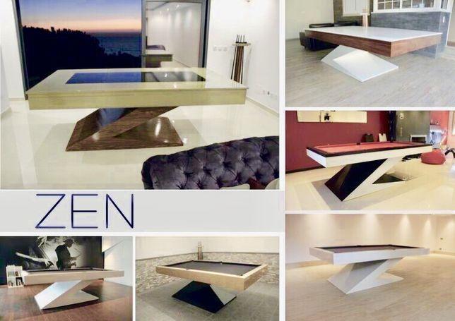 Bilhar europa fabricante Mod Zen  entregas em todo país