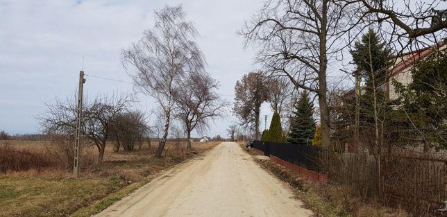 Działka rolna z warunkami do zabudowy gmina Dobre