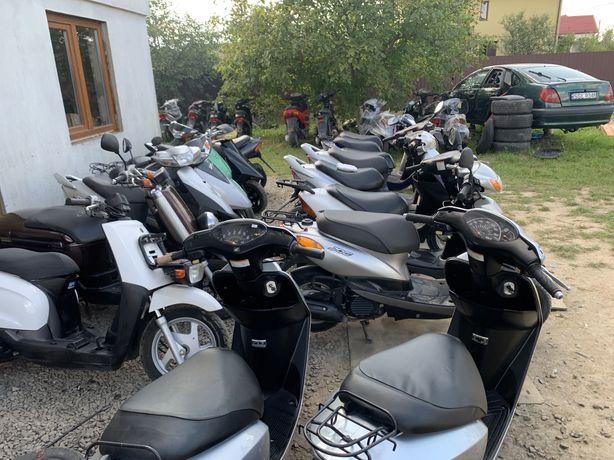 Мопед/Скутер Honda Dio З Контейнера
