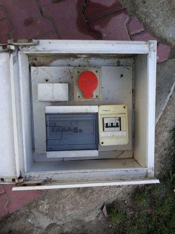 Rozdzielnia budowlana elektryczna skrzynka Rebetka