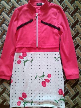 Комплект-двойка платье+ болеро