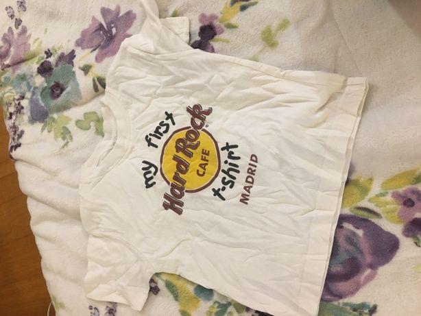 Tshirt Hard Rock Criança