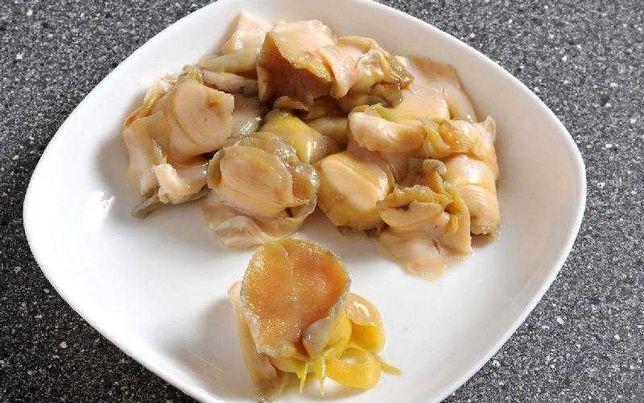Рапана черноморская. Мясо рапаны черноморской свежемороженое (сырое)