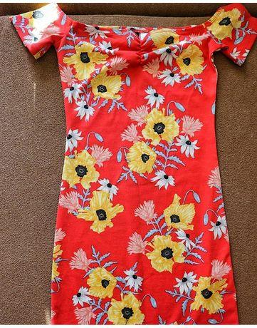 Яскраве літнє плаття