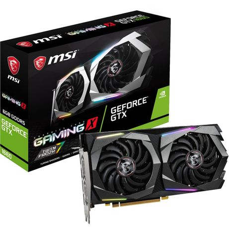 Placa Gráfica MSI GeForce GTX 1660 Gaming X