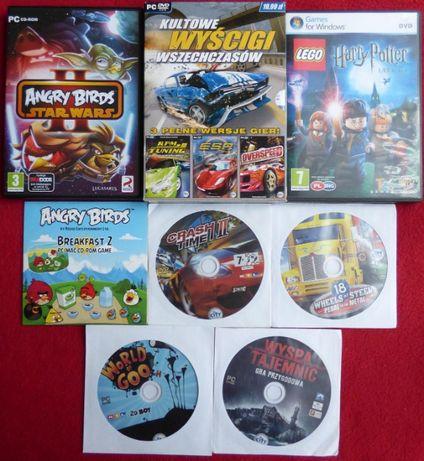 Gry PC - Angry Birds, Harry Potter, Crash Time II, World of Goo