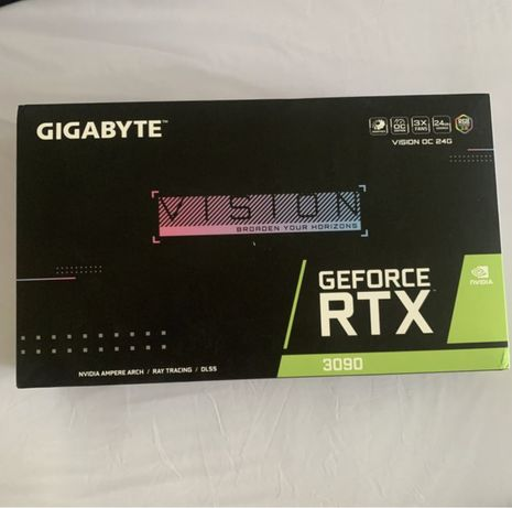Видеокарта GIGABYTE GeForce RTX 3090 VISION OC 24G