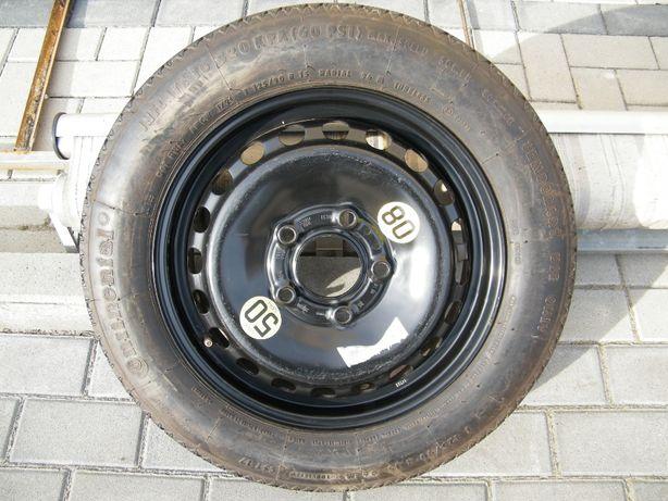 Koło dojazdowe BMW 15 cali 3.50Bx 15H2 125/90 5x120 ZAPAS