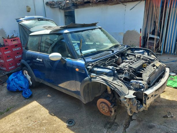 Mini 2002 com motor recondicionado para trocar
