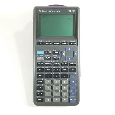 Инженерный калькулятор графический Texas Instruments микро TI 82
