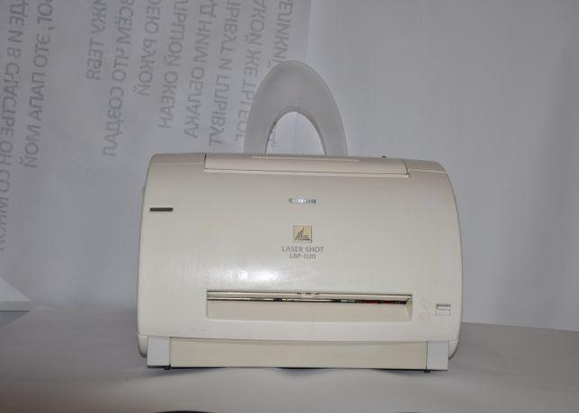 Лазерний принтер canon 1120 состояние нового