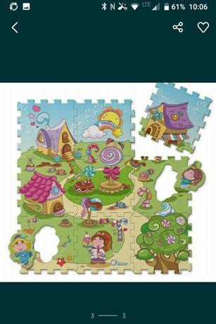 Mata puzzli dla dziecka piankowe Chicco italy pianki atest bezpieczne