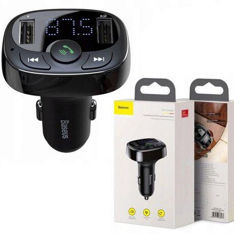 Fm modulator фм модулятор трансмиттер трас радио авто Bluetooth baseus