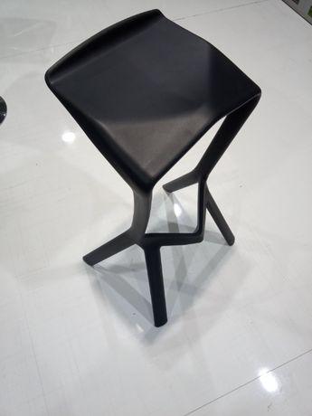 Krzesła plastikowe, skandynawskie, Hokery białe, czarne WYPRZEDAŻ