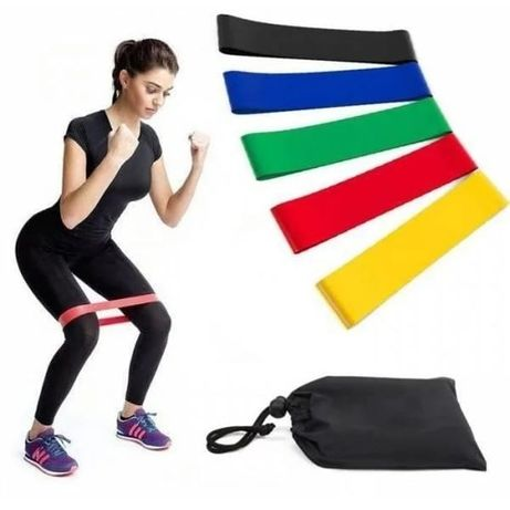 Набор фитнес-резинок LOOP BANDS 5 (резинки, сумка)