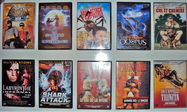 29 DVD's Vídeos / Filmes Originais (em francês)