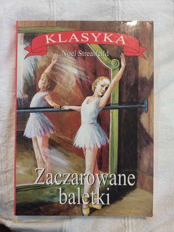 """Książka """"Zaczarowane baletki"""""""