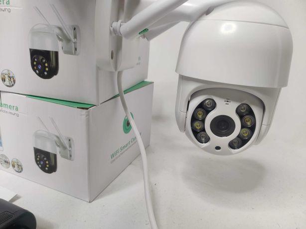 [NOVO] Câmera Vigilância Wi-Fi Exterior • 1080P • Auto-Tracking