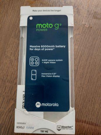 Pokrowiec Moto G9 power