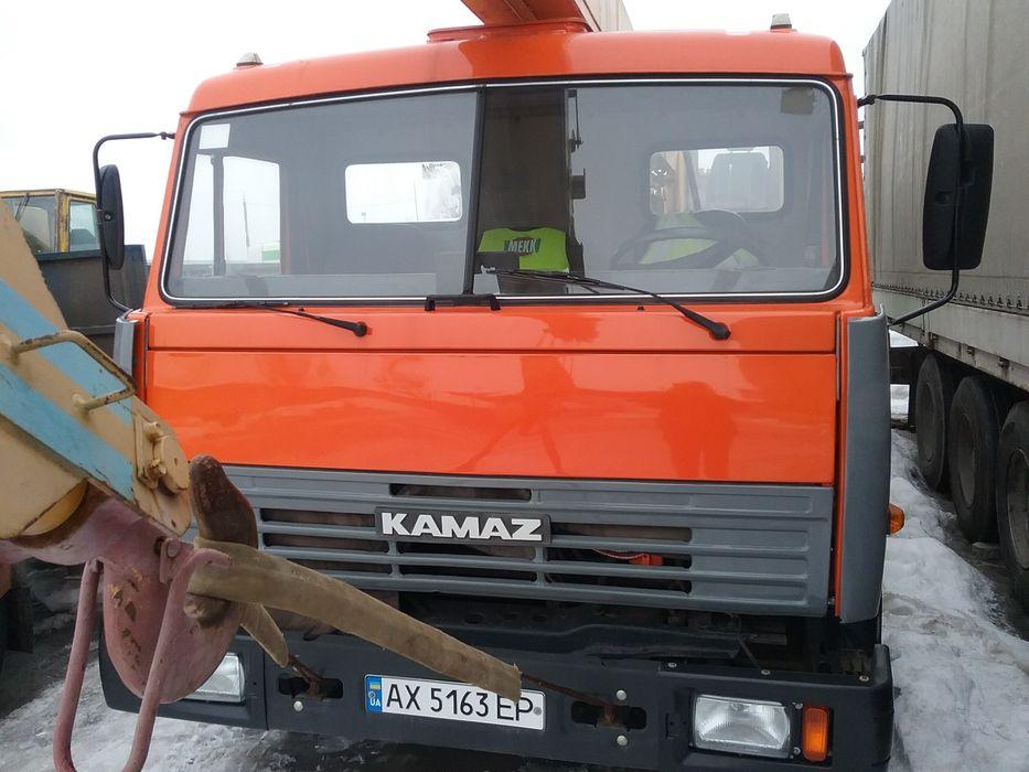 Автокран камаз продам Мовчан - изображение 1