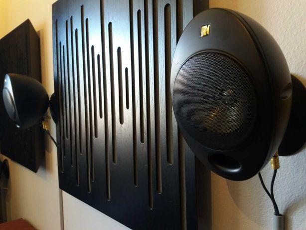 Colunas KEF KHT 2005.2, sistema surround para home cinema