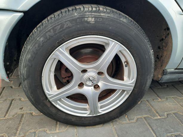 Felgi aluminiowe 15 z oponami Audi 80