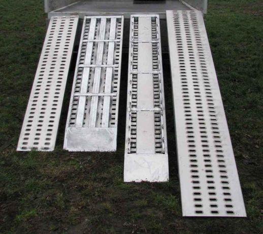 Najazdy ALUMINIOWE 2500x330x65 PRODUCENT Podjazd Trap Rampa Najazd