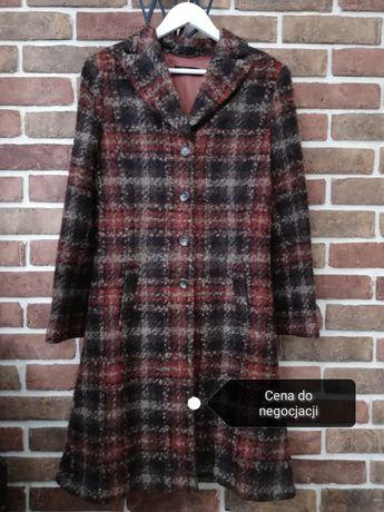 Płaszcz z wełny boucle 38