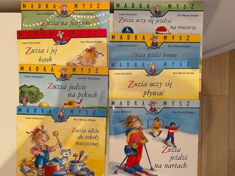 Książeczki edukacyjne z serii Zuzia