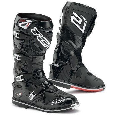 TCX PRO 2.1 black buty off-road mx cross atv zawias promocja honda ktm