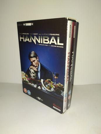 Pack DVD Hannibal série 1 e 2 completas