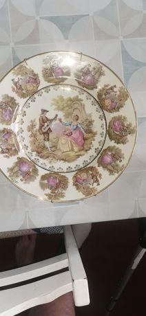 Prato porcelana fina glória bavaria