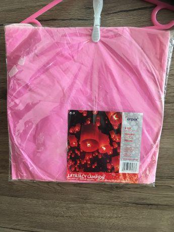 Latający lampion - różowy