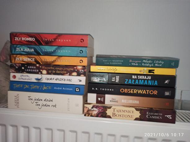 Romanse, kryminały, dla nastolatków, thrillery, książki