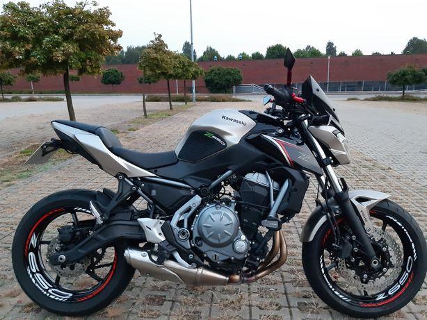 Kawasaki Z650 35kW