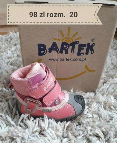Nowe trzewiki zimowe firmy Bartek