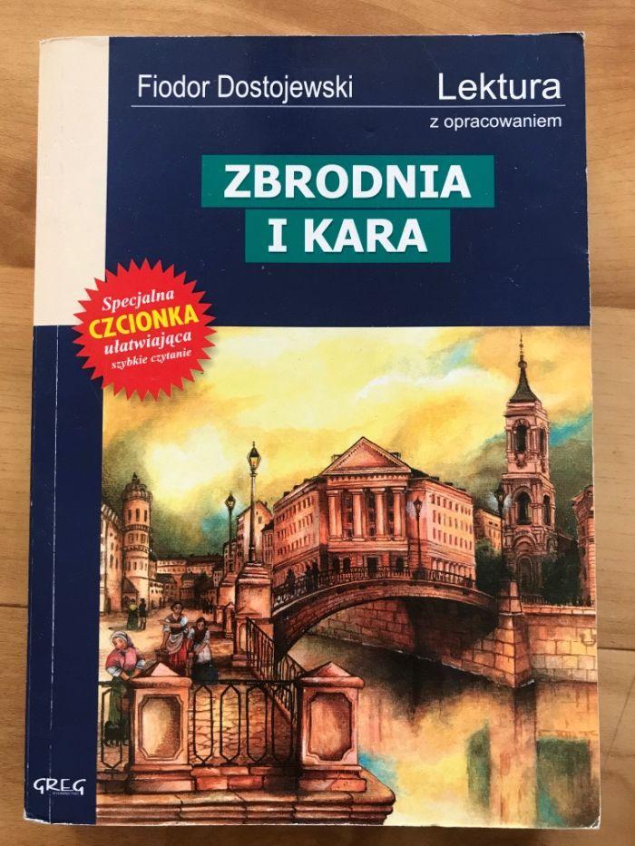",,Zbrodnia i kara"" Fiodor Dostojewski Słupsk - image 1"